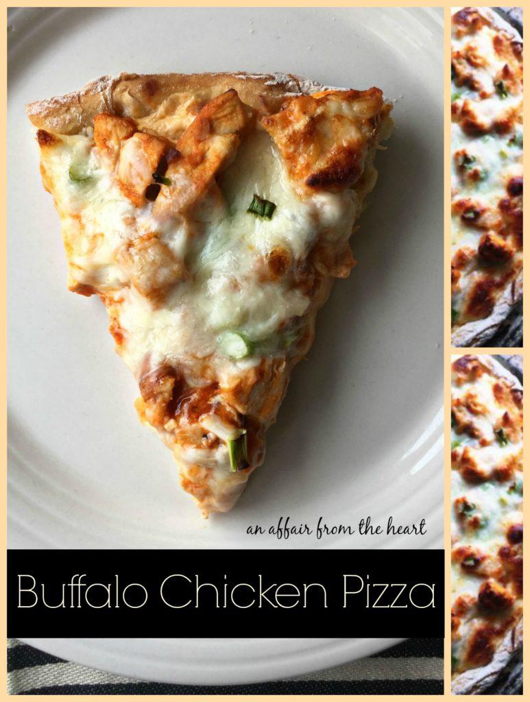 Buffalo Chicken Pizza | An Affair from the Heart