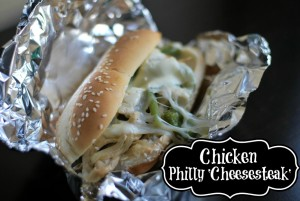Chicken Philly Cheesesteak