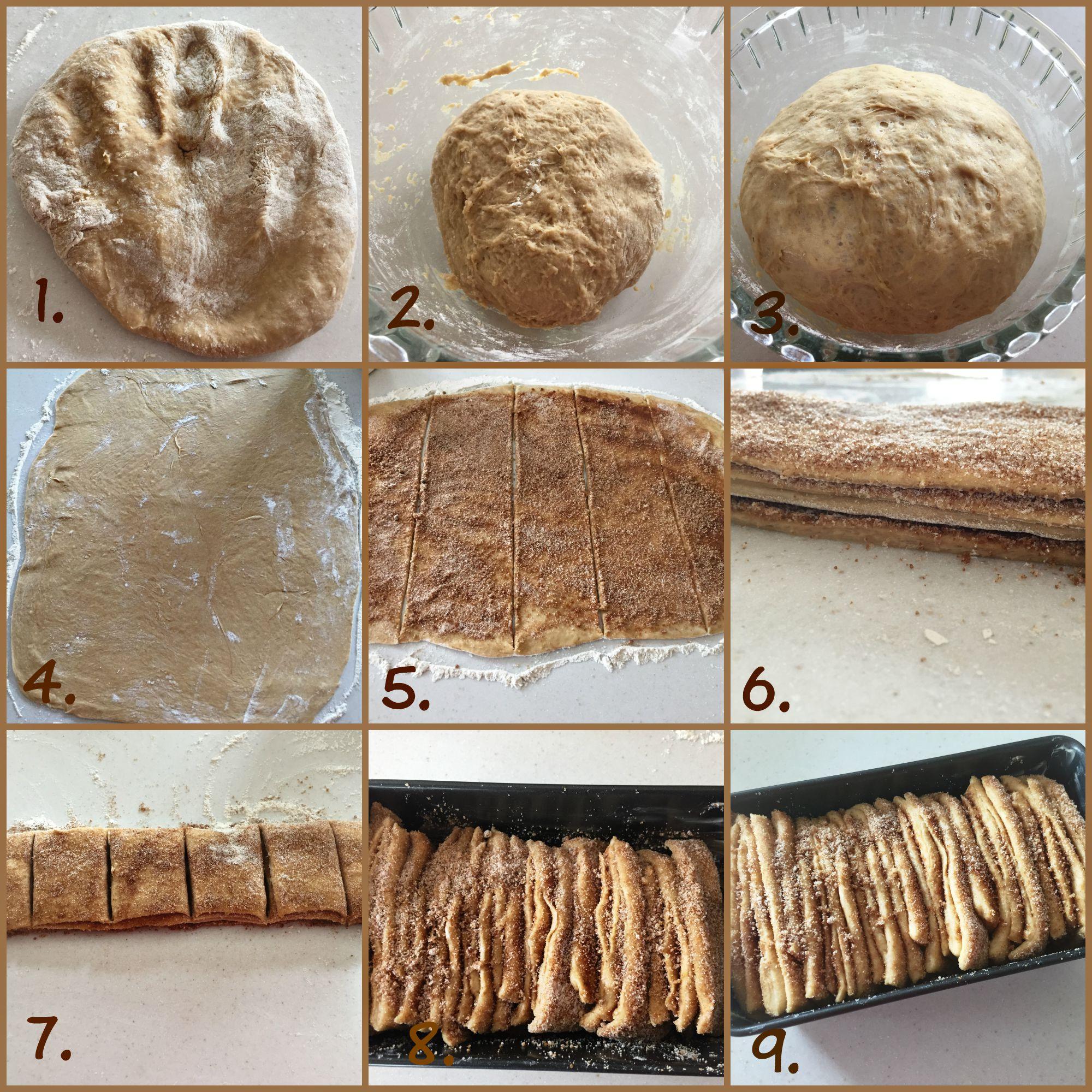 Cinnamon Pull Aparts: Cinnamon Pull-Apart Bread