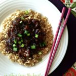 Copy Cat P.F. Chang's Mongolian Beef
