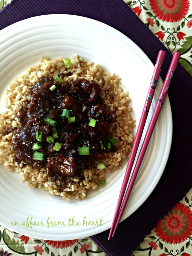Copy Cat P.F. Changs Mongolian Beef