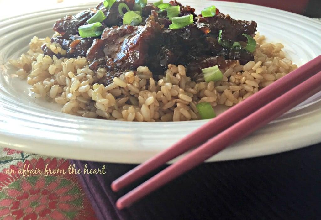 Copy Cat P.F. Changs Mongolian Beef