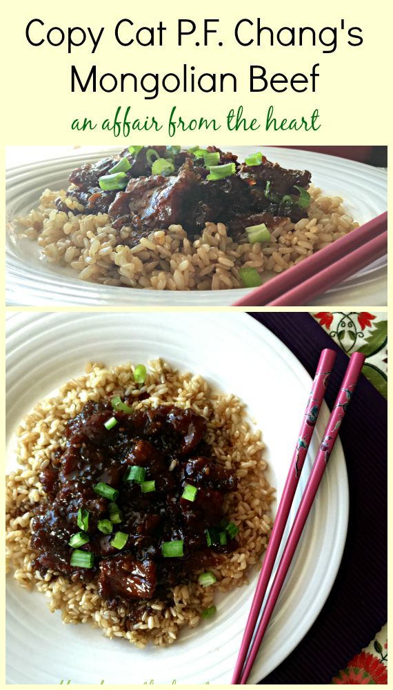 Copy Cat P.F. Changs Mongolian Beef c