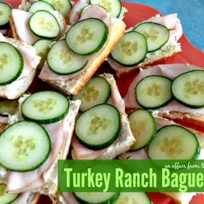 Turkey Ranch Baguettes