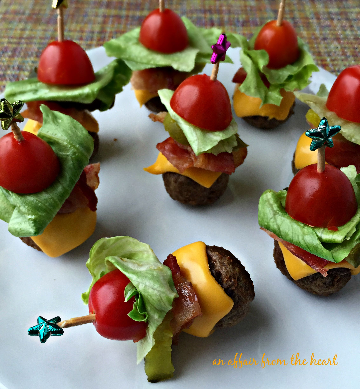 Bacon Cheeseburger Meatballs | An Affair from the Heart