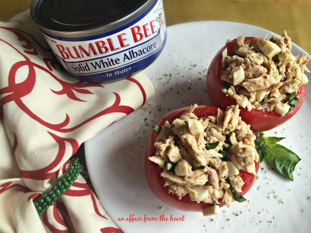 tuna salad and caprese salad and make one stellar salad