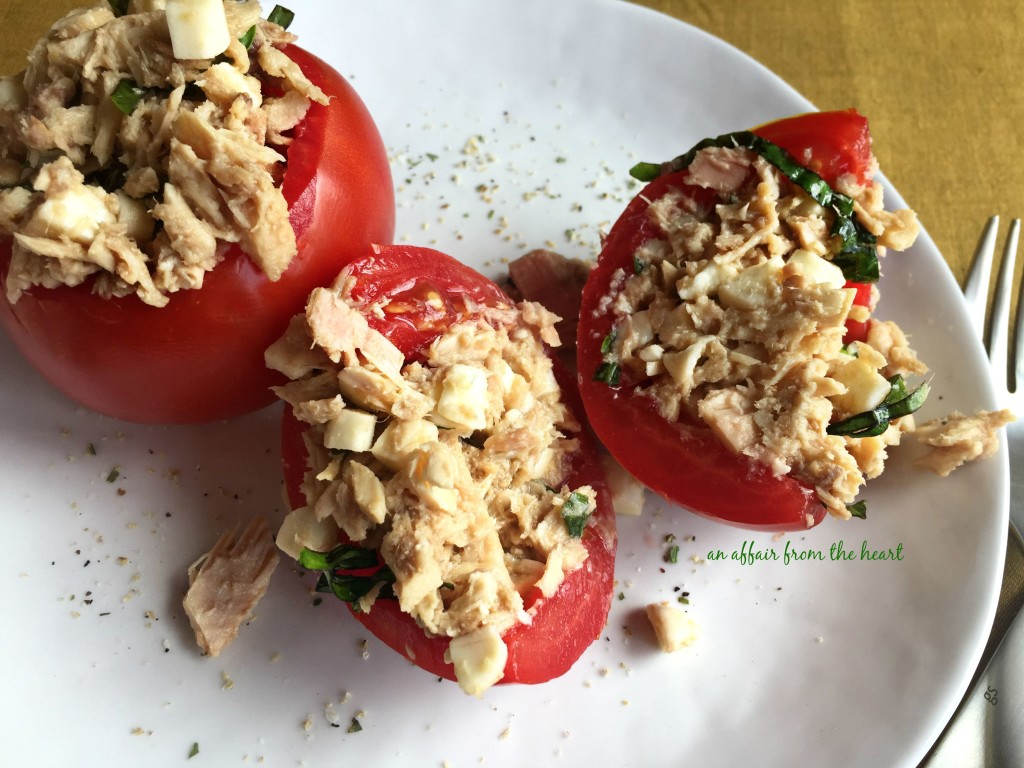 Caprese Tuna Salad | An Affair from the Heart