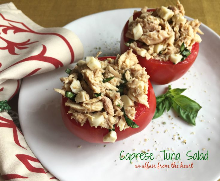 Caprese Tuna Salad