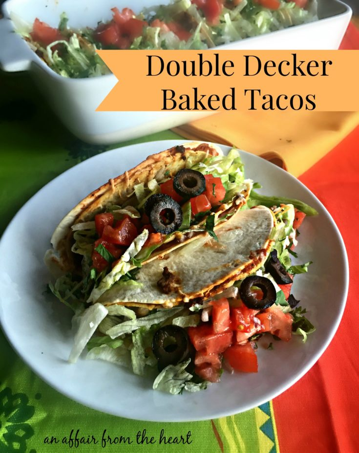 Double Decker Baked Tacos