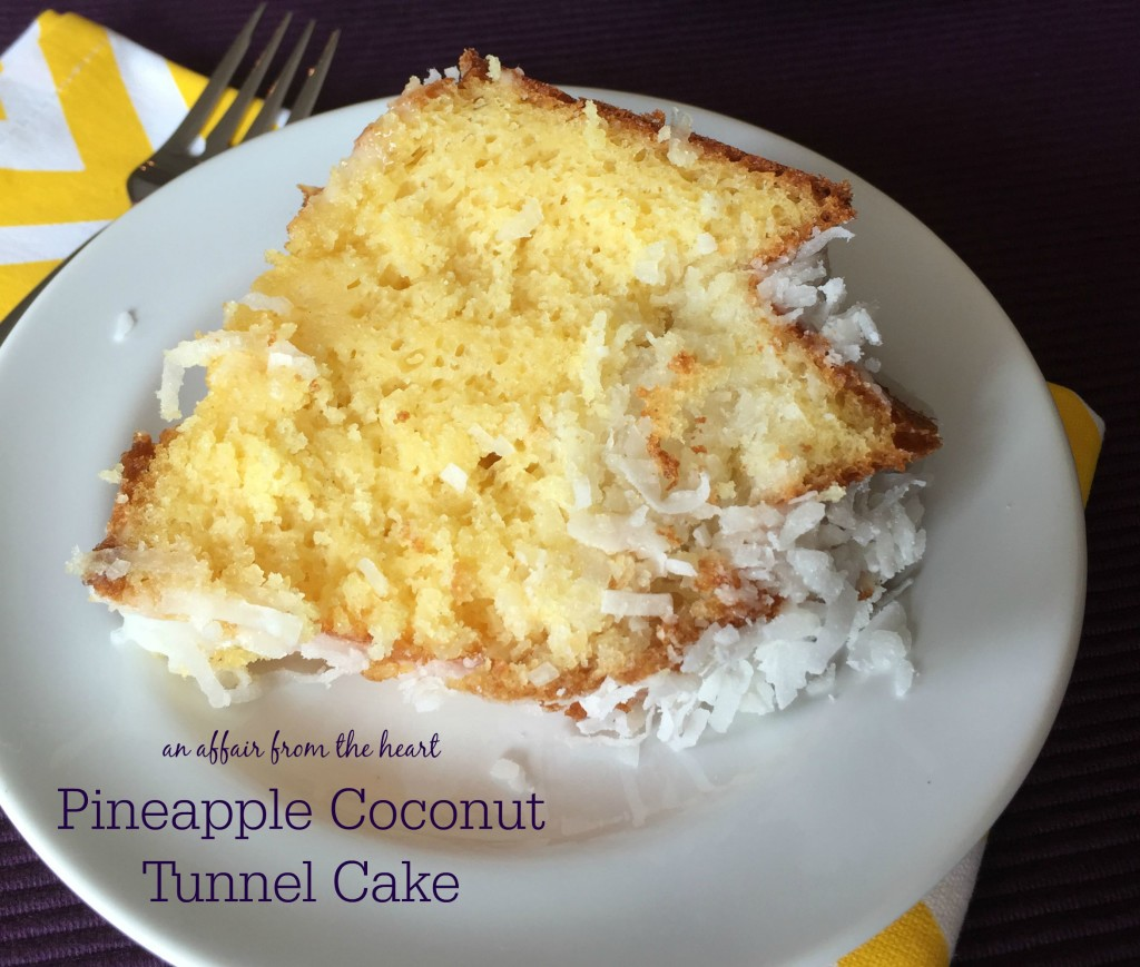 pineapple coconut cake recipe pineapple coconut tunnel cake 6538