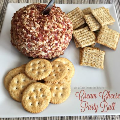 Cream Cheese Party Ball