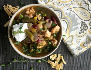Five Bean Chicken Chili