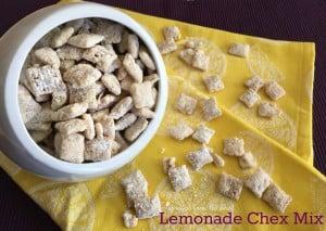 Lemonade Chex Mix
