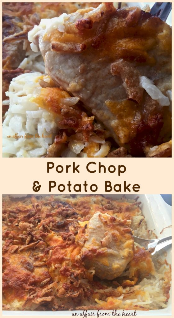 Pork Chop & Potato Bake
