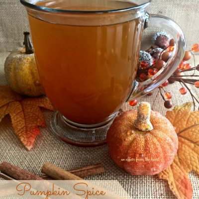 Pumpkin Spice Hot Toddy