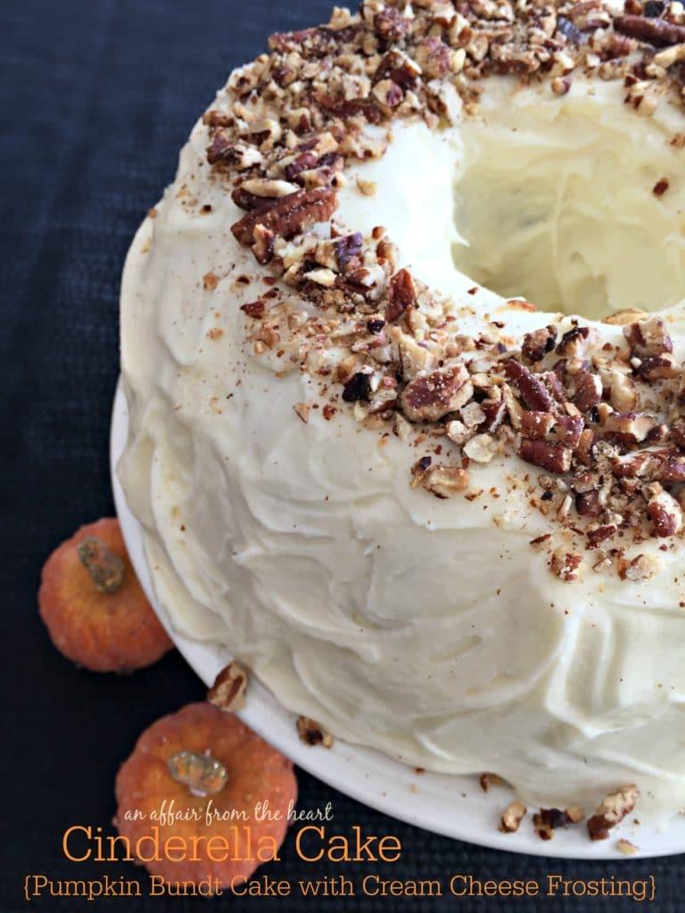 Cinderella Cake {Pumpkin Bundt Cake with Cream Cheese Frosting} | An ...