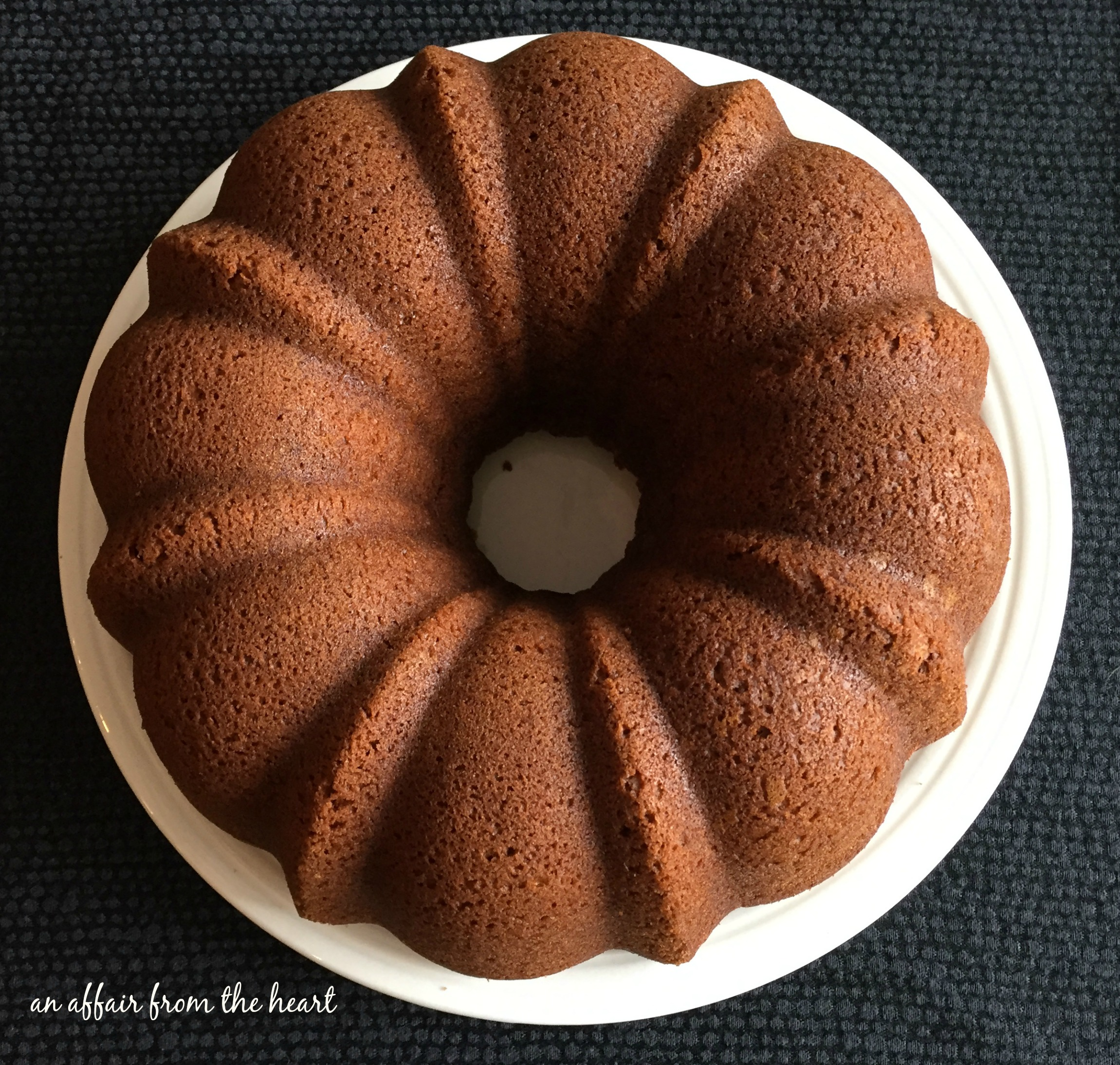 Pumpkin Spice Bundt Cake Using Cake Mix