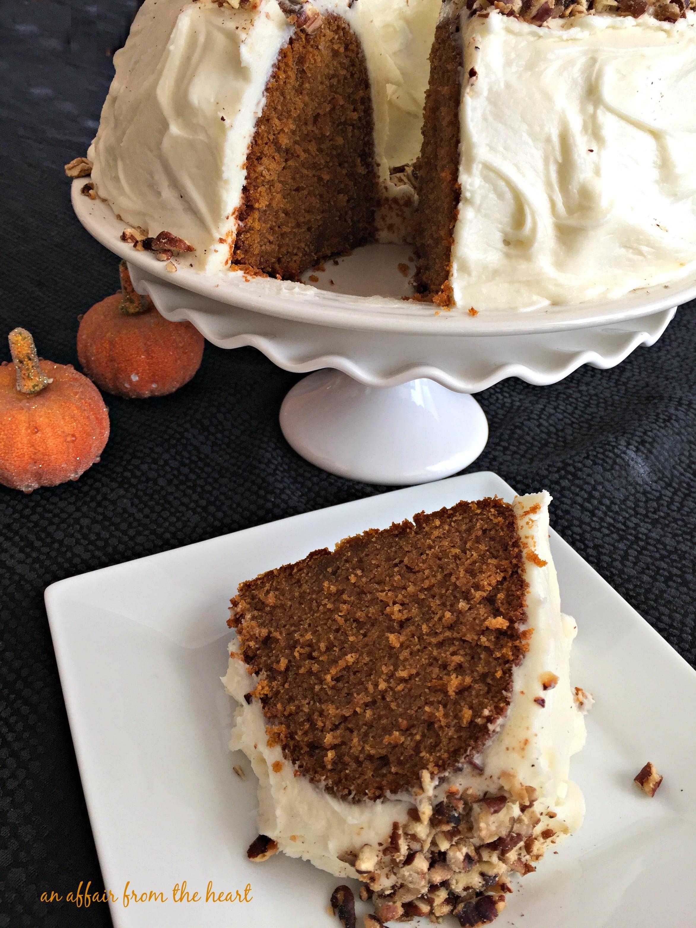 Cinderella Cake Pumpkin Bundt Cake With Cream Cheese