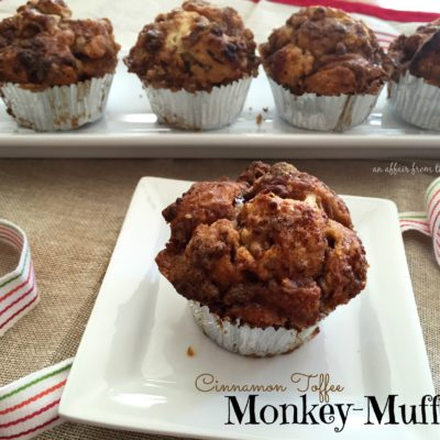 Cinnamon Toffee Monkey-Muffins