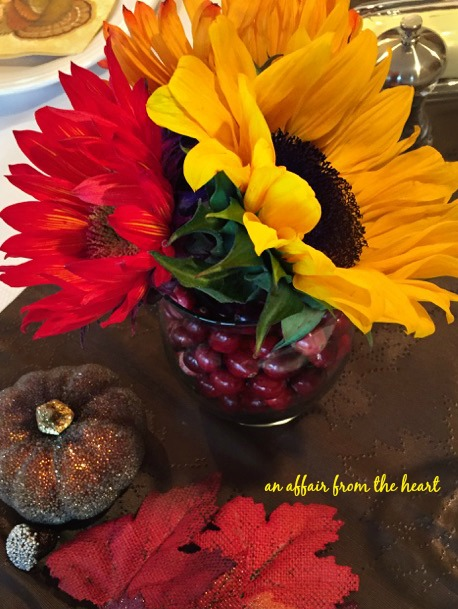 How to make an easy cranberry centerpiece affair from