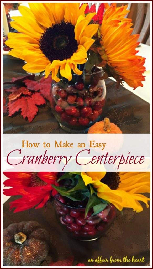 Cranberry Centerpiece