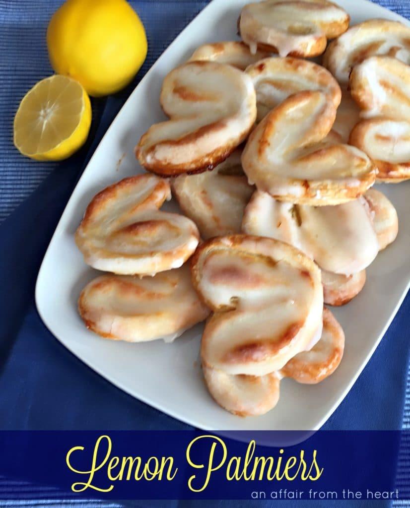 Lemon Palmiers