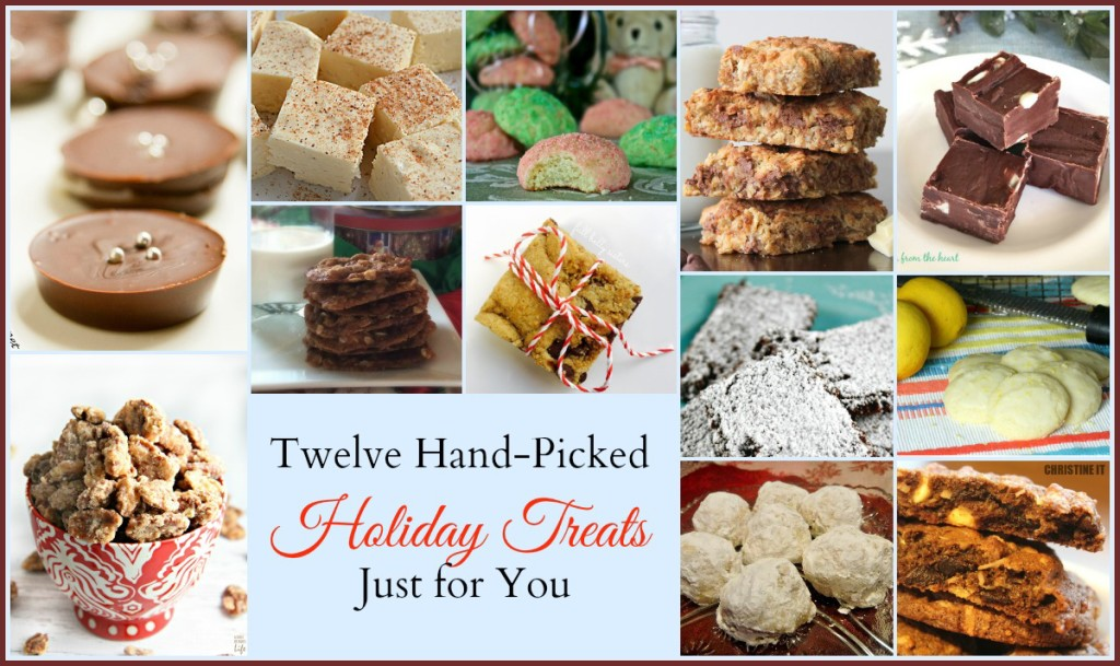 12 hand picked holiday treats