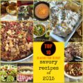 2015 Top 10 Savory Recipes of 2015