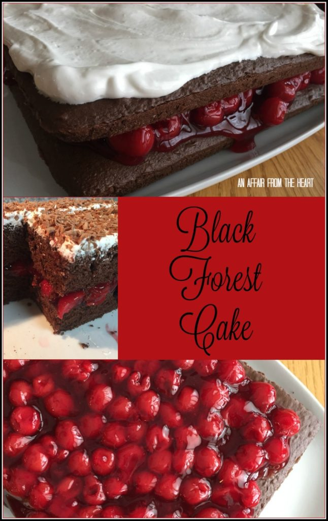 Black Forest Cake - An Affair from the Heart