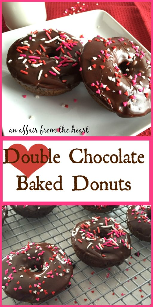 Double Chocolate Baked Donuts - An Affair from the Heart