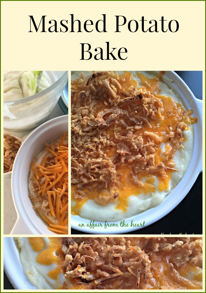 Mashed Potato Bake - An Affair from the Heart