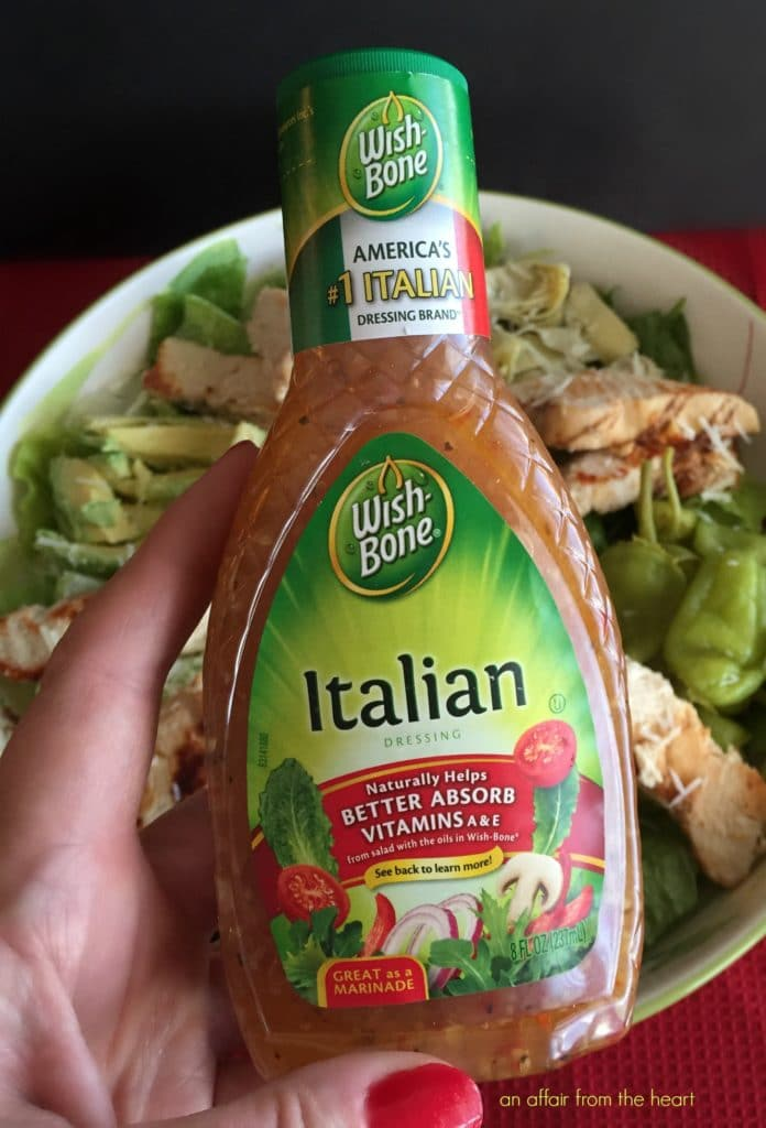 Italian Salad with Chicken