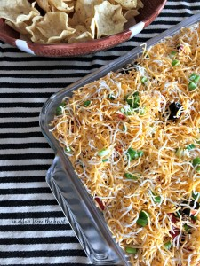 Mexican Layered Bean Dip