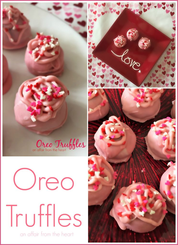 Oreo Truffles - An Affair from the Heart