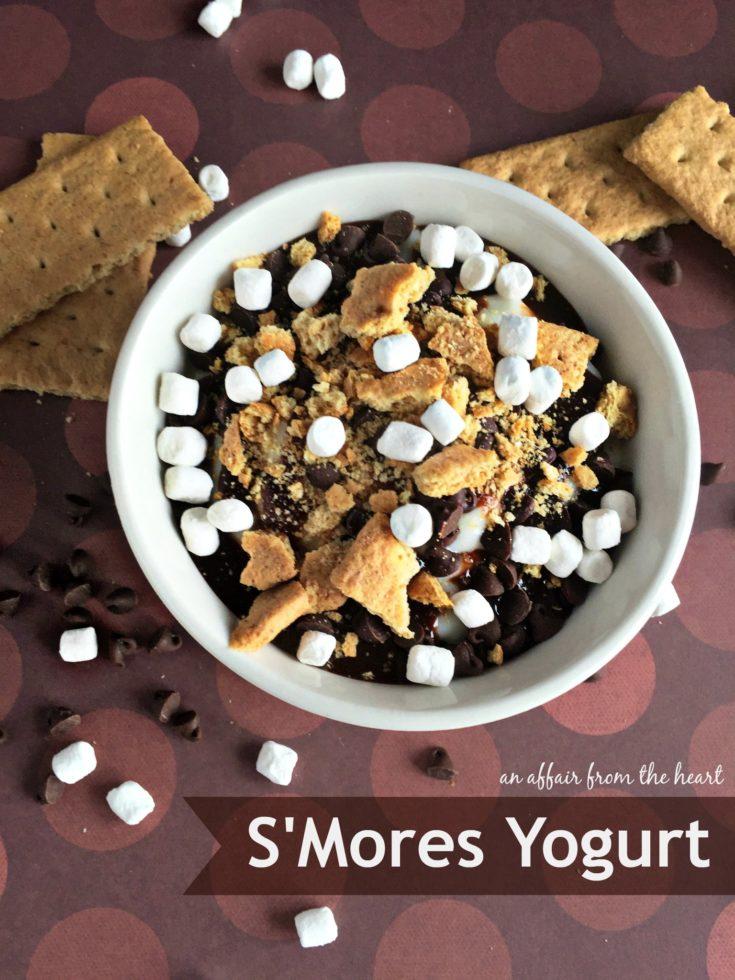 S'Mores Yogurt - Two Ways