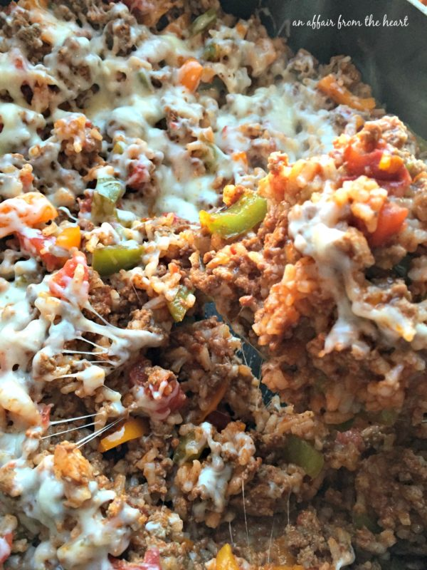 Stuffed Pepper Skillet
