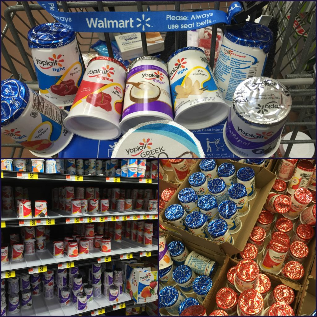 Yoplait at Walmart