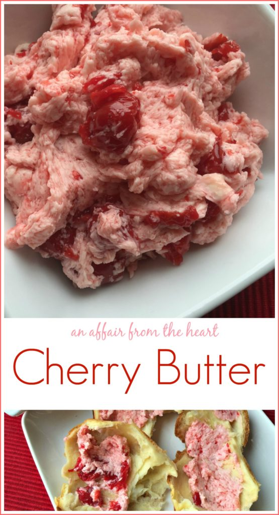Cherry Butter - An Affair from the Heart