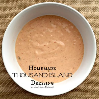 Homemade Thousand Island Dressing