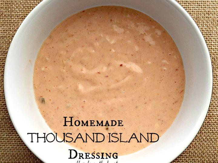 Homemade Thousand Island Dressing An Affair From The Heart