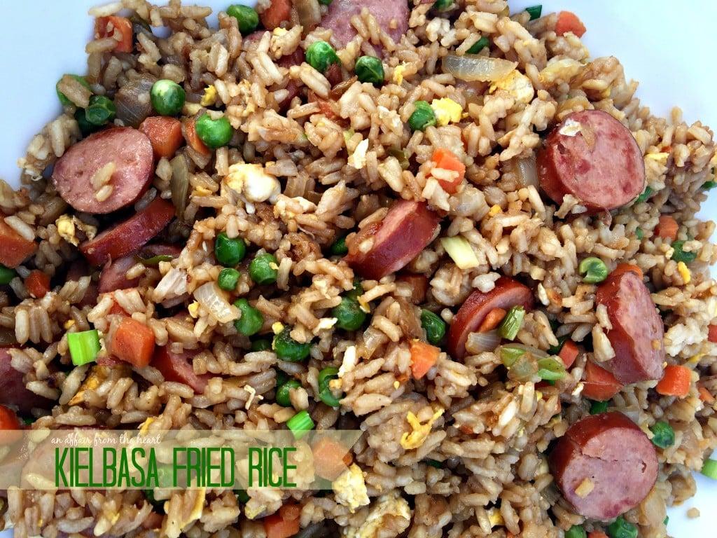 Kielbasa Fried Rice