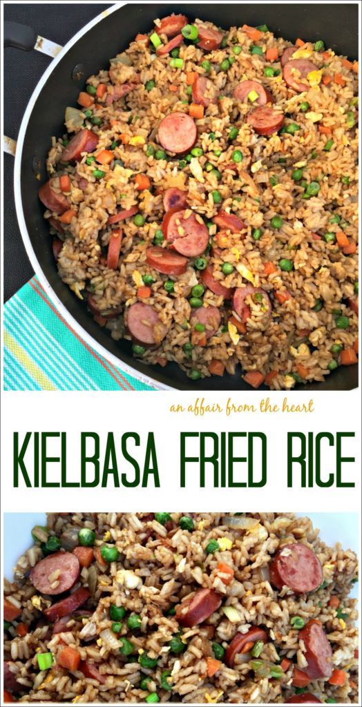 Kielbasa Fried Rice - An Affair from the Heart