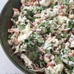 Peg's Salad – Italian Raw Veggie Salad