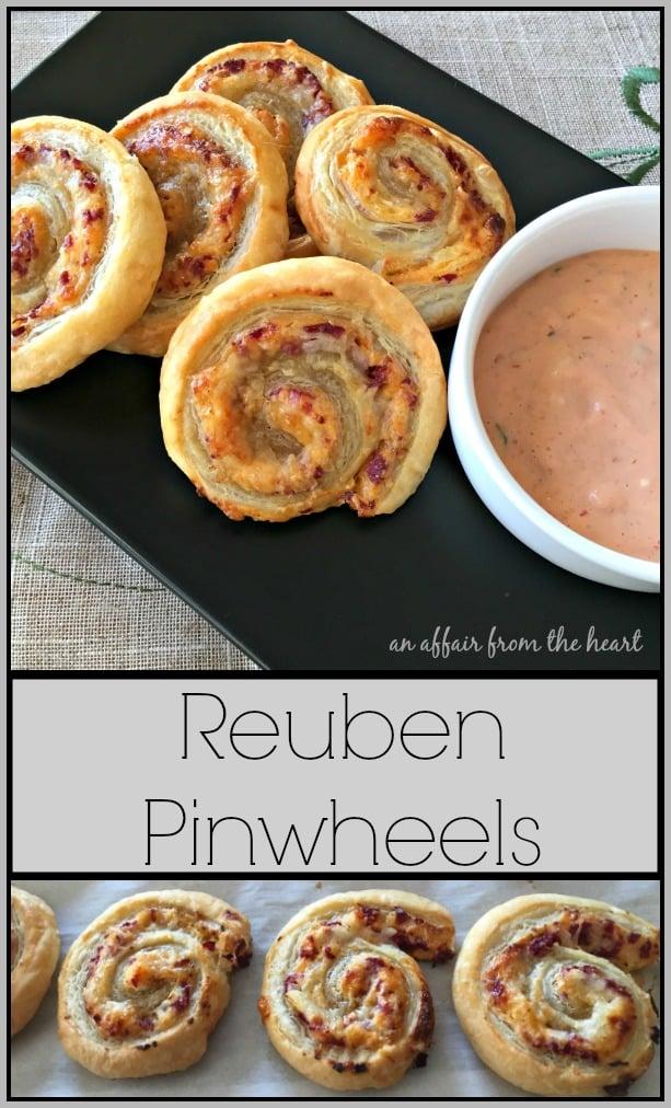 Reuben Pinwheels - An Affair from the Heart