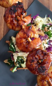 Sweet Heat Asian Grilled Shrimp