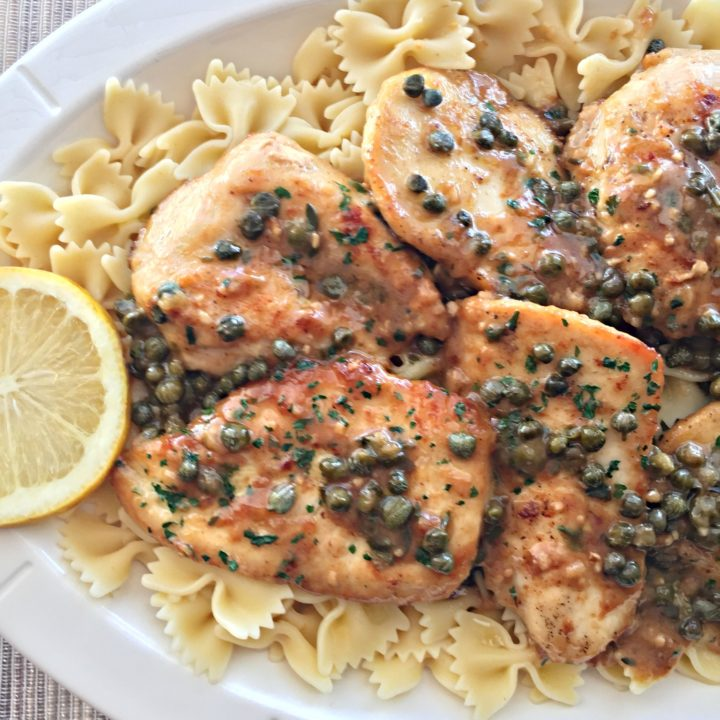 Chicken Piccata Tender Chicken In A Buttery Lemon Sauce With Capers