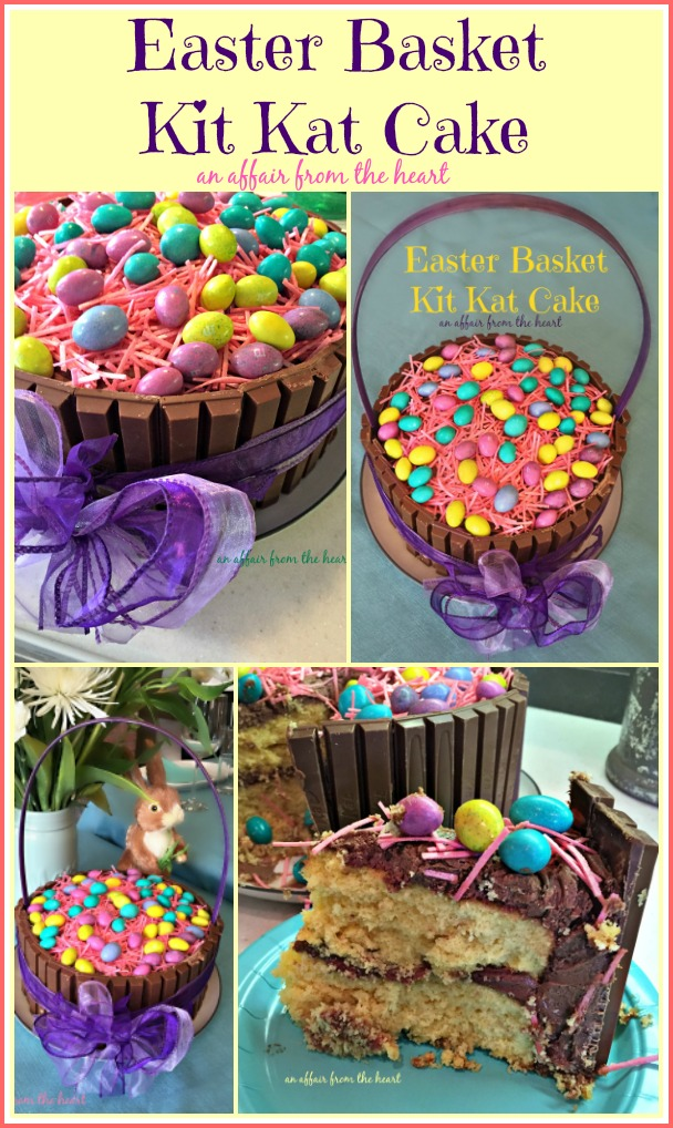 Easter Basket Kit Kat Cake - An Affair from the Heart