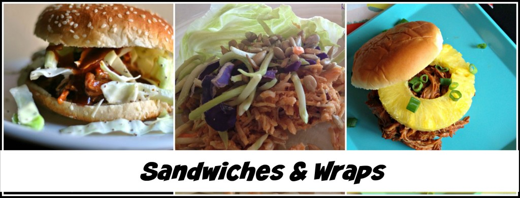 BBQ Sandwiches and Wraps