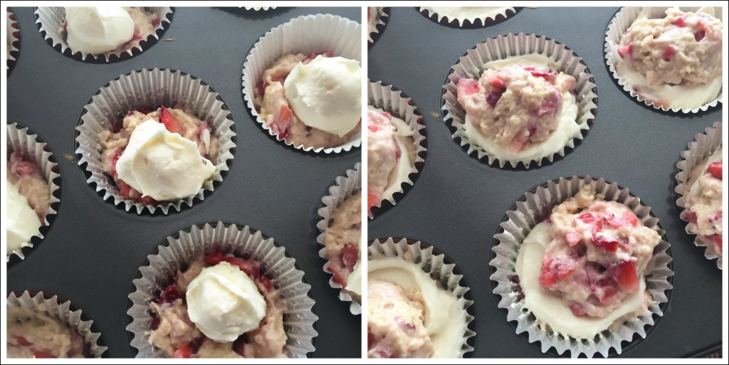 Strawberry Cheesecake Muffins6