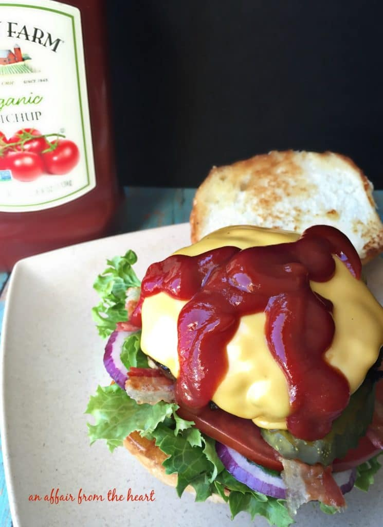 The BEST Burger Ketchup
